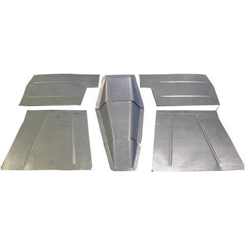 1937-1946 Chevy Pickup Truck Floor Pan Kit W/ Stock Firewall