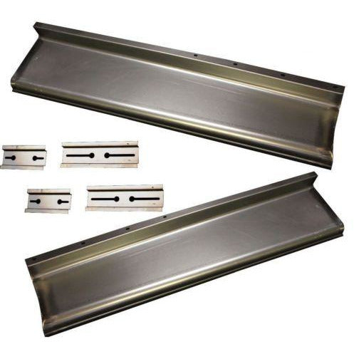 1934-1936 GMC 1/2 Ton Truck Smooth Running Board Set W/Adapters