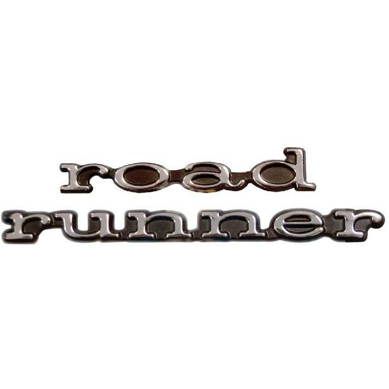 1969 - 1969 Plymouth Road Runner Door Emblem Set