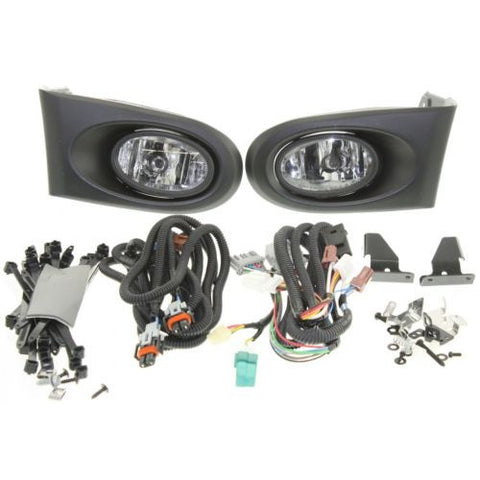 2002-2004  Acura RSX Fog Lamp Set, Assembly