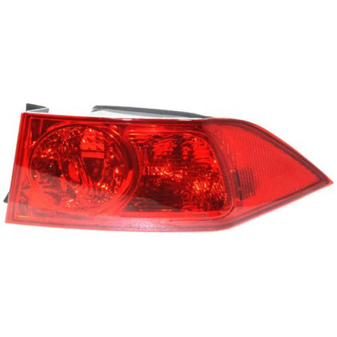2004-2005 Acura TSX Tail Lamp RH, Outer, Lens And Housing