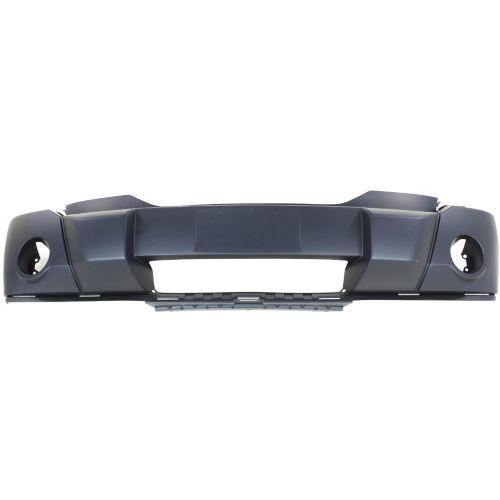 2007-2011 Dodge Nitro Front Bumper Cover, Primed, With Fog Lamp Hole
