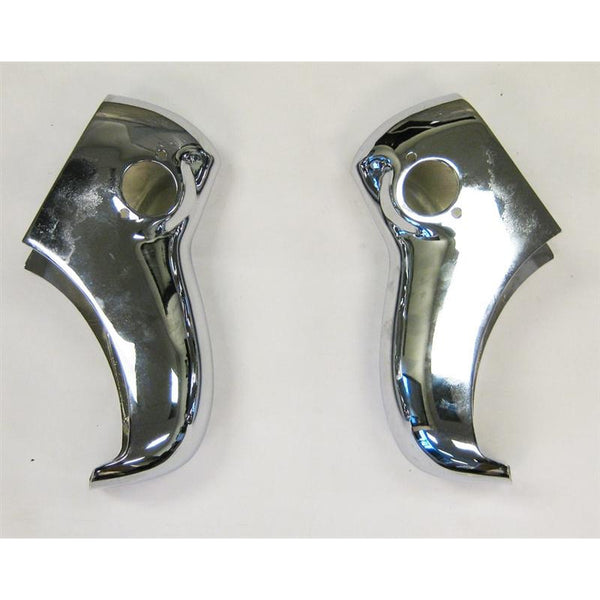 1955 Chevy Bel Air Bumper Guard Set, Rear