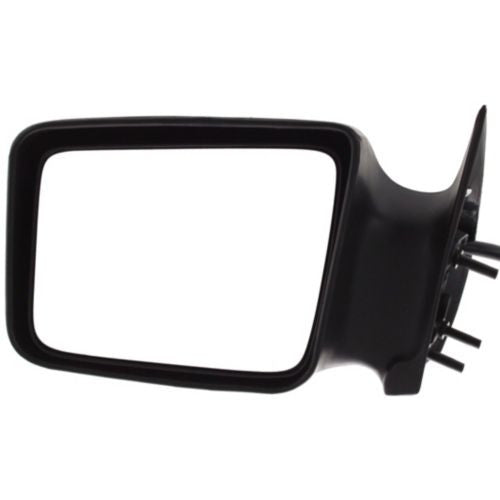 1984-1990 Dodge Caravan Mirror LH,Power,Non-heated,Non-folding,Textured Black