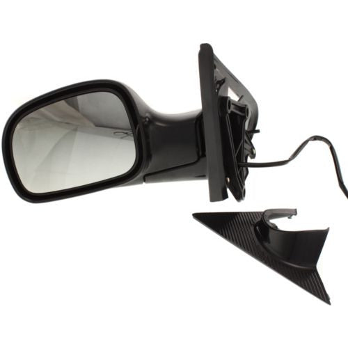 2001-2007 Dodge Caravan Mirror LH, Power, Non-heated, Manual Folding