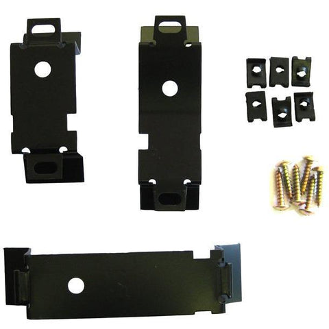1964-1965 Chevy El Camino Console Mounting Bracket Set, 3 Piece, w/Hardware