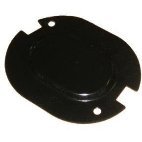 1962-1977 Oldsmobile Cutlass Floor Pan Drain Plug Cover, w/Cutout Coupe