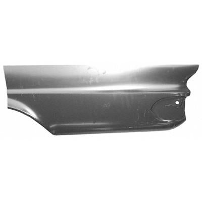 1963-1966 Dodge Dart DRIVER SIDE LOWER REAR QUARTER PATCH; 40in LONG X 20in H; MODIFY