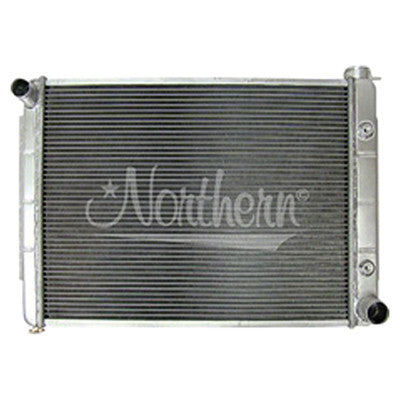 1966-1969 Dodge Coronet RADIATOR;ALUMINUM;FOR VARIOUS w/SMALL BLOCK V8;18-1/2 X