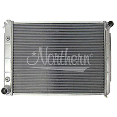 1967-1969 Dodge Dart RADIATOR;ALUMINUM;FOR VARIOUS w/BIG BLOCK V8;18-1/2 X