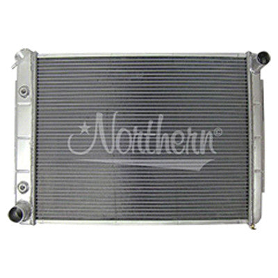 1966-1969 Dodge Charger RADIATOR;ALUMINUM;FOR VARIOUS w/BIG BLOCK V8;18-1/2 X
