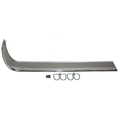 1964-1966 Ford Mustang PASSENGER SIDE GRILLE MOLDING; WITH HARDWARE