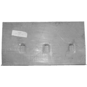 1964-1970 Ford Mustang TRUNK FLOOR LH WITH DROP OFF