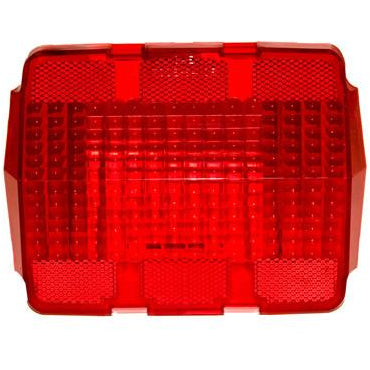1964-1966 Ford Mustang DRIVER OR PASSENGER SIDE TAIL LIGHT LENS WITHOUT LOGO; 2 REQUIRED