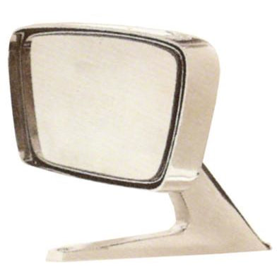 1967-1968 Ford Mustang PASSENGER SIDE NON-REMOTE RECTANGULAR OUTSIDE REARVIEW MIRROR