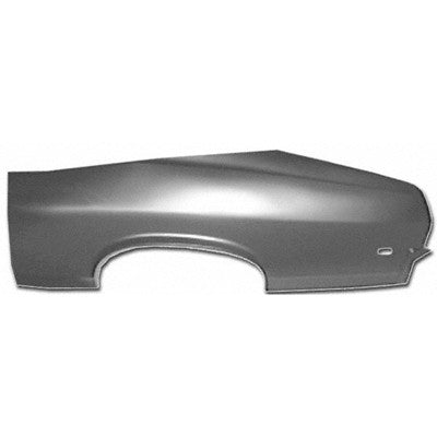 1968-1969 Chevy Nova QUARTER PANEL SKIN LH COUPE 26in HIGH X 76in LONG