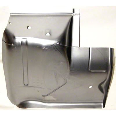 1967-1969 Pontiac Firebird UNDER SEAT FLOOR PAN; RH REAR