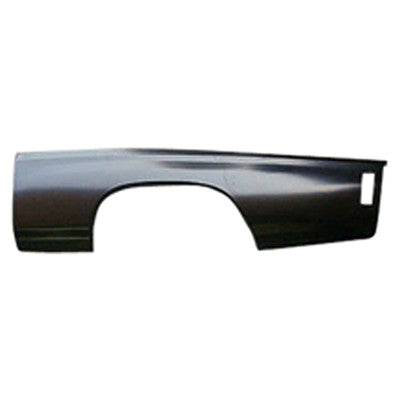 1970-1972 Chevy Chevelle QUARTER PANEL LOWER 2/3 LH 21 X 77 LONG