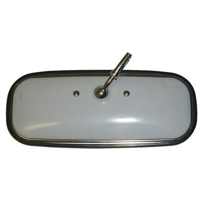 1960-1971 GMC Pickup STAINLESS STEEL INSIDE REARVIEW MIRROR w/o DAY/NIGHT FUNCTION