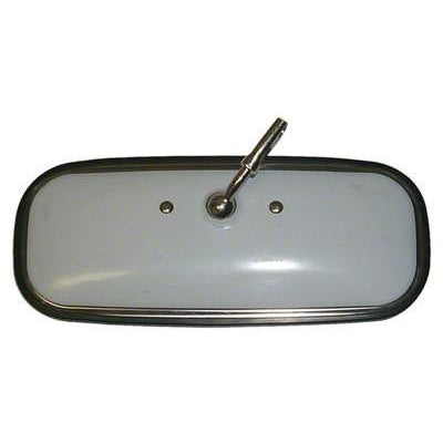 1960-1971 GMC Suburban STAINLESS STEEL INSIDE REARVIEW MIRROR w/o DAY/NIGHT FUNCTION