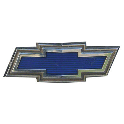 1971 1972 chevy blazer grille emblem blue bowtie. Black Bedroom Furniture Sets. Home Design Ideas