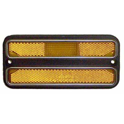 1969-1972 Chevy Blazer DRIVER OR PASSENGER SIDE FRONT AMBER MARKER LIGHT ASSEMBLY WITH