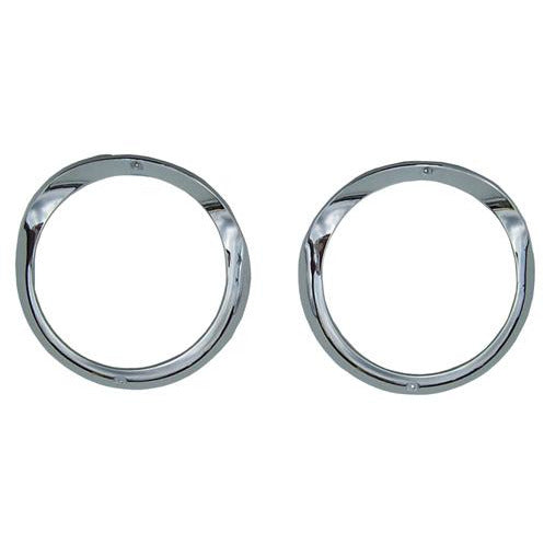 1955 Chevy Bel Air Head Light Bezel, Pair