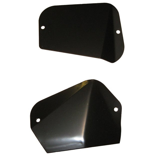 1966-1970 Dodge Charger Fender Cover And Plate, Pair