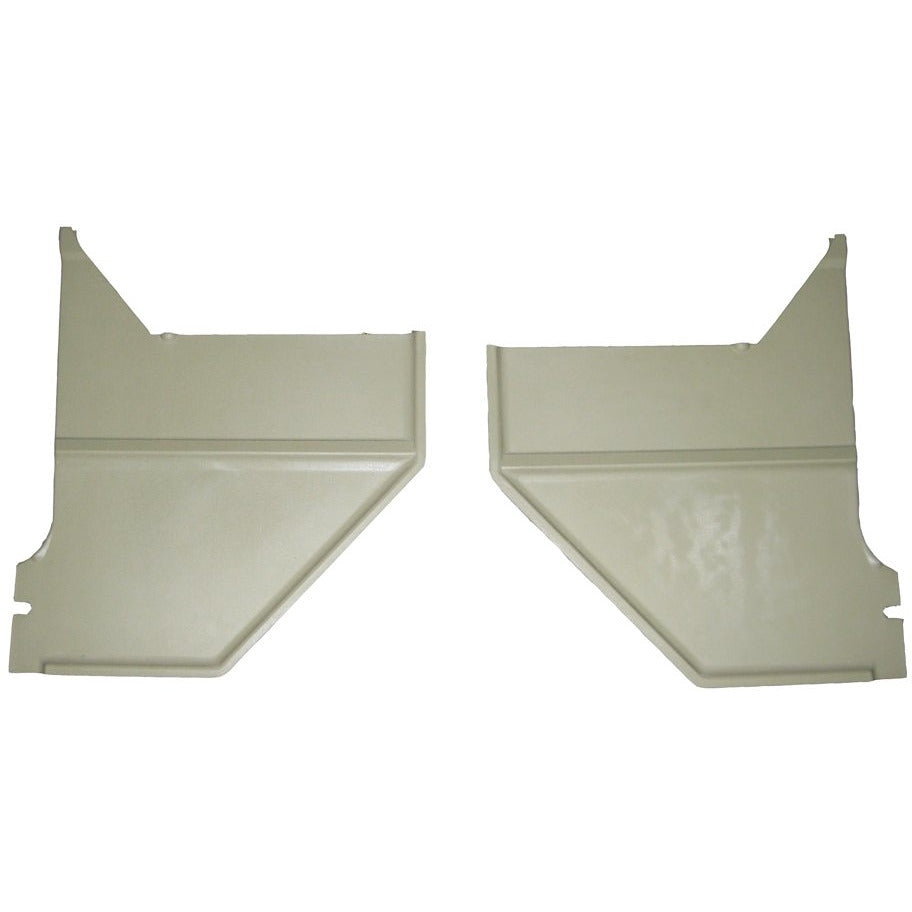 1967-1968 Ford Mustang Kick Panel, Ivy Gold Pair Coupe Fastback