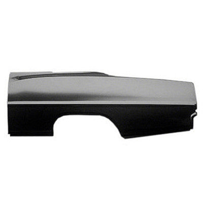 1966-1967 Chevy Nova QUARTER PANEL SKIN LH 26in HIGH X 75in LONG