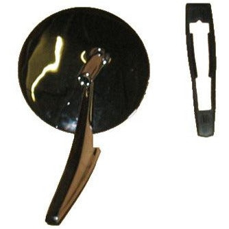 1967 Chevy Camaro Door Mirror, Non-Remote, w/Out Bowtie, w/Mounting Kit