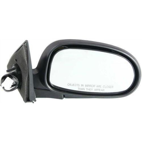 2000-2003 Nissan Maxima Mirror RH, Power, Non-heated, Manual Folding
