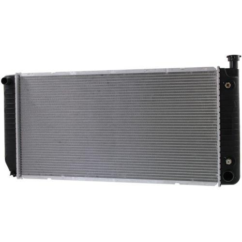 1999-2000 Cadillac Escalade Radiator,34x17 in.,1-row core,Without EOC
