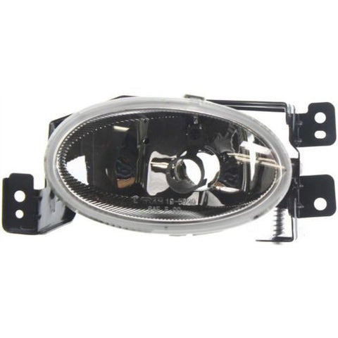 2004-2008 Acura TSX Fog Lamp LH, Lens And Housing, Factory Installed