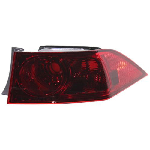 2006-2008 Acura TSX Tail Lamp RH, Outer, Lens And Housing