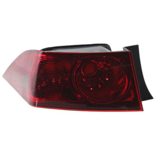 2006-2008 Acura TSX Tail Lamp LH, Outer, Lens And Housing