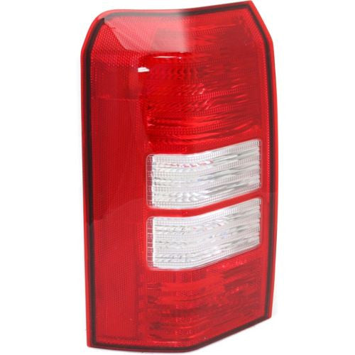2007-2007 Jeep Patriot Tail Lamp LH, Lens And Housing