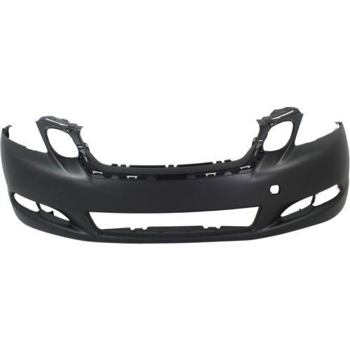 2008-2011 Lexus GS460 Front Bumper Cover, w/o Parking Assist, w/Headlight Washer