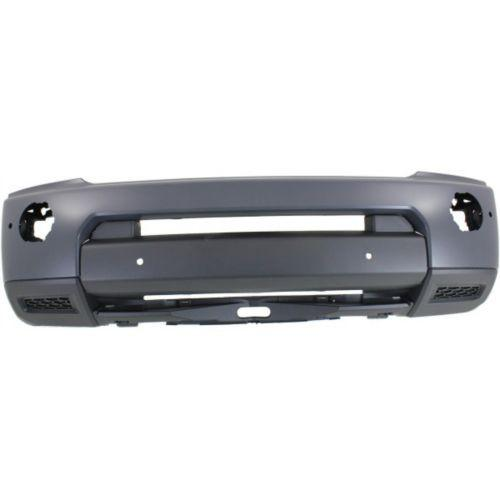 2010-2013 L& Rover LR4 Front Bumper Cover Gray, w/Headlight Washer & Parking Aid