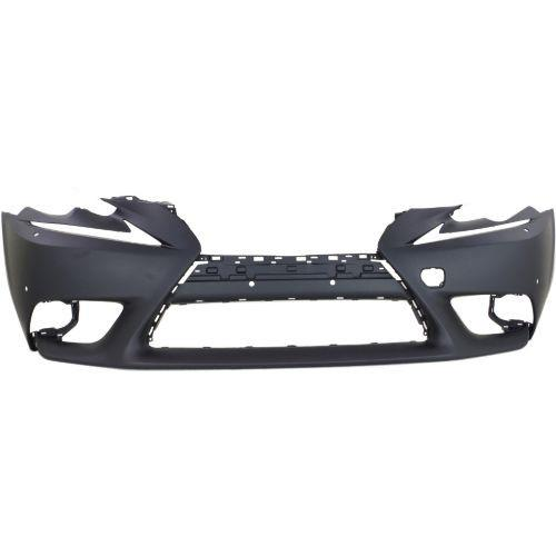 2016 Lexus IS300 Front Bumper Cover, Primed, w/ PDS and HLW, w/o F Sport Pkg.-CAPA