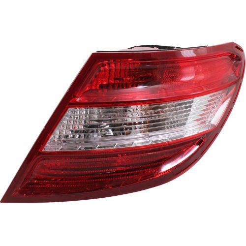 2008-2011 Mercedes-Benz C-Class Tail Lamp RH, Assembly, W/o Curve Lighting