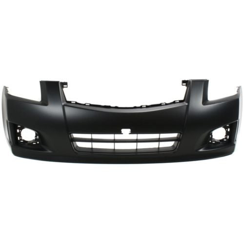 2007-2012 Nissan Sentra Front Bumper Cover,Primed,w/Fog Light,SR/SE-Rs
