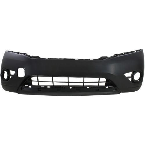 2013-2014 Nissan Pathfinder Front Bumper Cover Upper,Textured Lower-CAPA