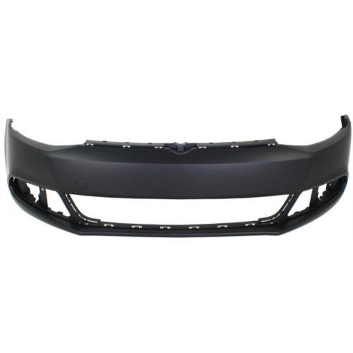 2011-2014 Volkswagen Jetta Front Bumper Cover,w/o Headlight Washer/Parking