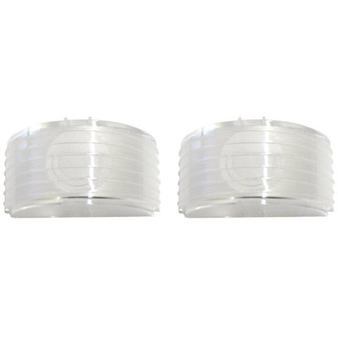 1955 Chevy Bel Air Back Up Light Lens, Pair