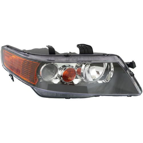 2004-2005 Acura TSX Head Light RH,Lens And Housing,Hid,w/Out HID Kits