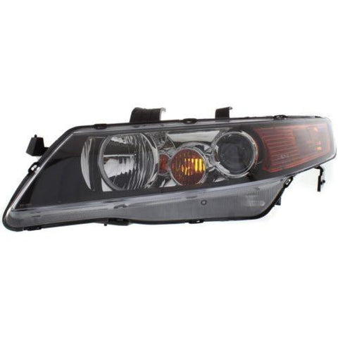 2004-2005 Acura TSX Head Light LH,Lens And Housing,Hid,w/Out HID Kits