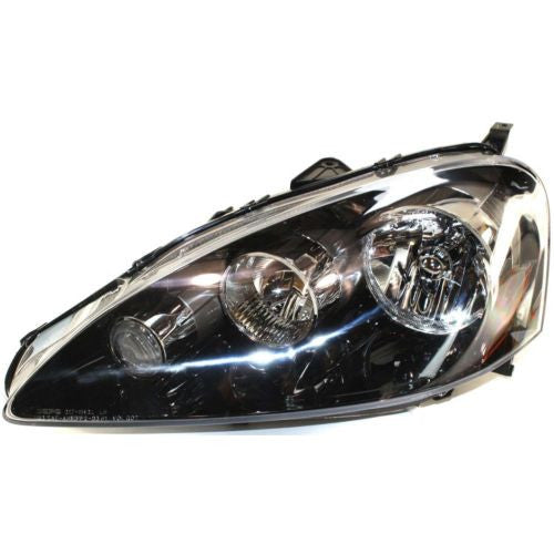 2005-2006 Acura RSX Head Light LH, Lens And Housing