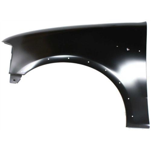 1997-2004 Ford F-250 Pickup Fender LH, With Wheel Opening Molding Holes