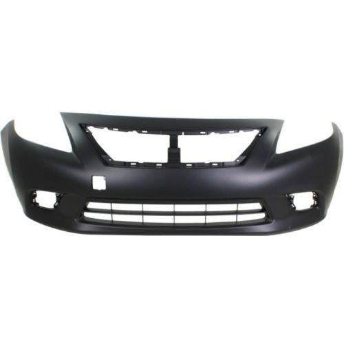 2012-2014 Nissan Versa Front Bumper Cover,Manual/Transmission,Sedan-CAPA